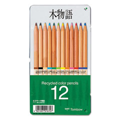 TOM 51625 Tombow Recycled Colored Pencils TOM51625