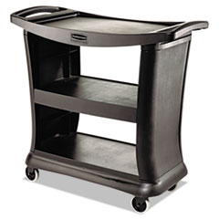 RCP 9T6800BK Rubbermaid Commercial Executive Service Cart RCP9T6800BK
