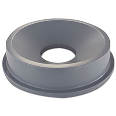 RCP 3543GRA Rubbermaid Commercial Round Brute Funnel Top RCP3543GRA