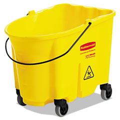 RCP 757088YEL Rubbermaid Commercial WaveBrake Bucket RCP757088YEL
