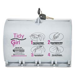 STO TGUDPV2 Tidy Girl Plastic Feminine Hygiene Disposal Bag Dispenser STOTGUDPV2
