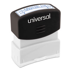UNV 10058 Universal Pre-Inked One-Color Stamp UNV10058