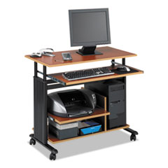 "SAF 1927CY Safco Muv 28"" Adjustable-Height Mini-Tower Computer Desk SAF1927CY"