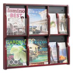SAF 5703MH Safco Expose Adjustable Magazine/Pamphlet Literature Display SAF5703MH