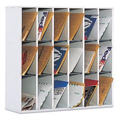 SAF 7765GR Safco Wood Mail Sorters SAF7765GR