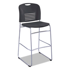 SAF 4295BL Safco Vy Sled Base Bistro Chair SAF4295BL