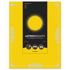 WAU 91096 Astrobrights Foil Enhanced Certificates WAU91096