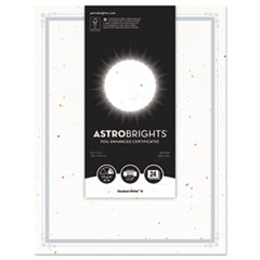 WAU 91105 Astrobrights Foil Enhanced Certificates WAU91105