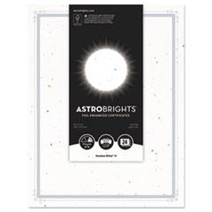 WAU 91105 Astrobrights Foil Enhanced Certificates WAU91105