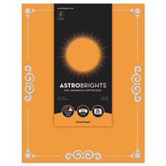 WAU 91098 Astrobrights Foil Enhanced Certificates WAU91098