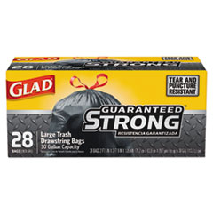 CLO 78966BX Glad Drawstring Large Trash Bags CLO78966BX