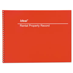 DOM M2512 Ideal Rental Property Record Book DOMM2512