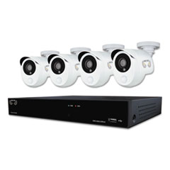 NGT B10PH841PIR Night Owl Eight Channel 1080p HD Video Security DVR with 1 TB HDD and 4 x 1080p Wired Infrared Cameras NGTB10PH841PIR