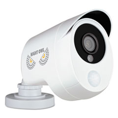 NGT CMPIRHD10B Night Owl One Pack Add-On 1080p Wired HD Analog Security Camera with Heat Based Motion Detection NGTCMPIRHD10B