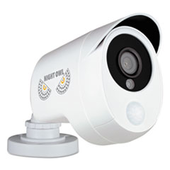 NGT CM2PPIRHD10B Night Owl One Pack Add-On 1080p Wired HD Analog Security Camera with Heat Based Motion Detection NGTCM2PPIRHD10B