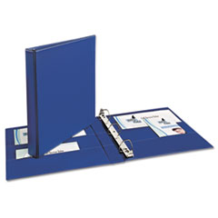 AVE 07300 Avery Durable Non-View Binder with DuraHinge and EZD Rings AVE07300