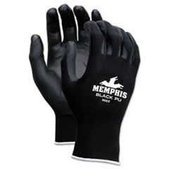CRW 9669L MCR Safety Economy PU Coated Work Gloves CRW9669L