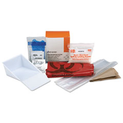 FAO 21760 First Aid Only BBP Spill Cleanup Kit FAO21760