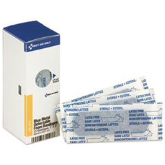 FAO FAE3110 First Aid Only Metal Detectable Foam Adhesive Bandages FAOFAE3110