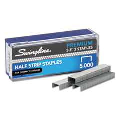 S.F. 3 Premium Chisel Point 105 Count Half-Strip Staples, 5000/Box