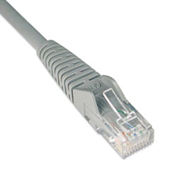 TRP N201014GY Tripp Lite CAT6 Snagless Molded Patch Cable TRPN201014GY