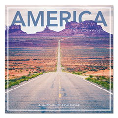 AAG LML76110 AT-A-GLANCE  Landmark  America the Beautiful Wall Calendar AAGLML76110