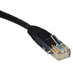 TRP N002010BK Tripp Lite CAT5e Molded Patch Cable TRPN002010BK