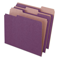 PFX 04335 Pendaflex Earthwise by Pendaflex 100% Recycled Colored File Folders PFX04335