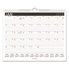 AAG PM8X28 AT-A-GLANCE Contemporary Medium Monthly Wall Calendar AAGPM8X28