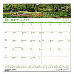 HOD 301 House of Doolittle Earthscapes 100% Recycled Gardens of the World Monthly Wall Calendar HOD301
