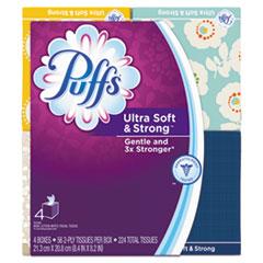 PGC 35295PK Puffs Ultra Soft Facial Tissue PGC35295PK