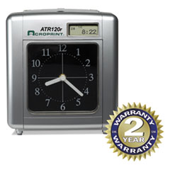 ACP 010212000 Acroprint Model ATR120 Time Clock for Weekly/Biweekly Pay Periods ACP010212000