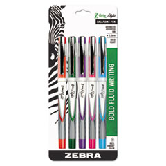 ZEB 21875 Zebra Z-Grip Flight Stick Ballpoint Pen ZEB21875