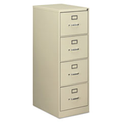 ALE VF1952PY Alera Four-Drawer Economy Vertical File ALEVF1952PY