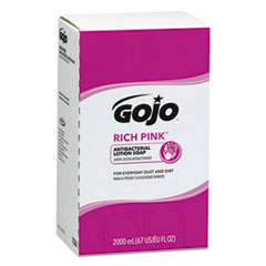 GOJ 7220 GOJO RICH PINK Antibacterial Lotion Soap GOJ7220