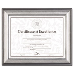 DAX N15783NT DAX Charcoal/Nickel-Tone Document Frame DAXN15783NT