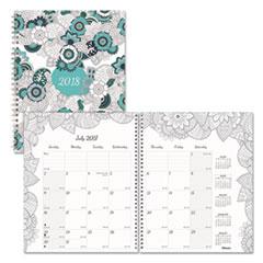 RED C292001 Blueline  Doodleplan Monthly Planner REDC292001