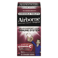 ABN 97970 Airborne  Immune Support Chewable Tablets ABN97970