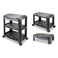 ALE U3N1BL Alera 3-in-1 Cart and Stand ALEU3N1BL