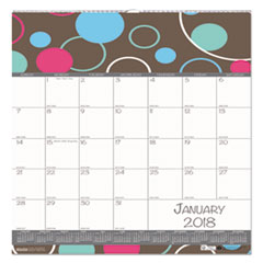 HOD 340 House of Doolittle 100% Recycled Bubbleluxe Wall Calendar HOD340