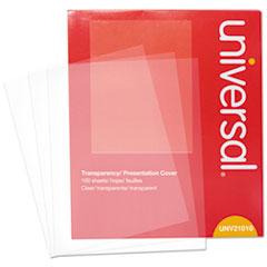 UNV 21010 Universal Transparent Sheets UNV21010