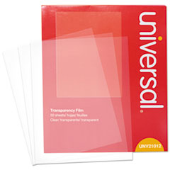 UNV 21012 Universal Transparent Sheets UNV21012