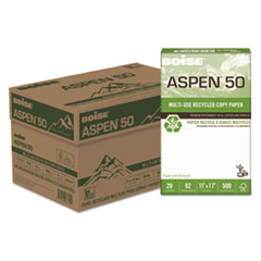 CAS 055017 Boise ASPEN 50 Multi-Use Recycled Paper CAS055017