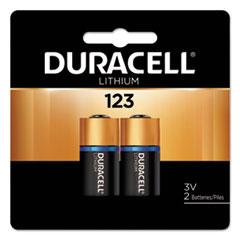 DUR DL123AB2BPK Duracell Ultra High-Power Lithium Batteries DURDL123AB2BPK