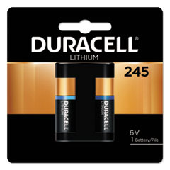 DUR DL245BPK Duracell Ultra High-Power Lithium Batteries DURDL245BPK