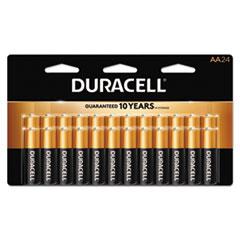 DUR MN2400B24000 Duracell CopperTop Alkaline Batteries DURMN2400B24000