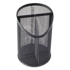 UNV 20019 Universal Metal Mesh 3-Compartment Pencil Cup UNV20019