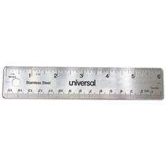 UNV 59026 Universal Stainless Steel Ruler UNV59026