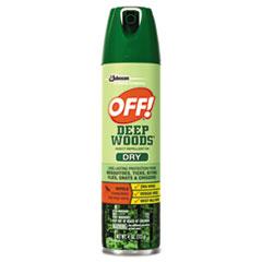 SJN 616304 OFF! Deep Woods Aerosol Insect Repellent SJN616304
