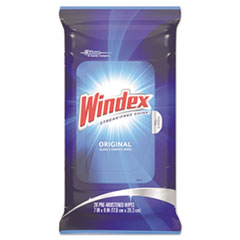 SJN 642513EA Windex Glass & Surface Wipes SJN642513EA